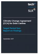 Climate Change Agreement (CCA) for Data Centres