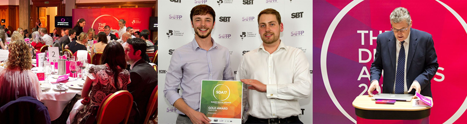 4D wins best B2B website at Sussex Digital Awards
