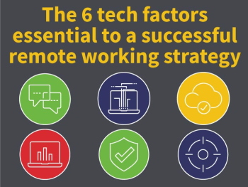 INFOGRAPHIC: 6 tech factors essential to successful remote working