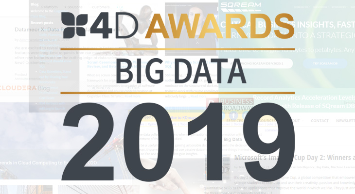 Big Data blog awards 2019