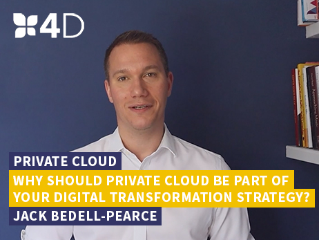 Why private cloud should be part of your digital transformation