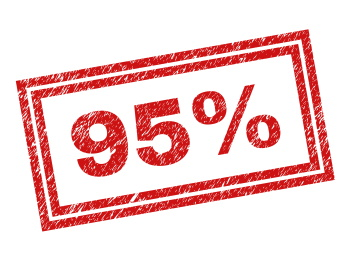 What is 95th percentile billing for internet?